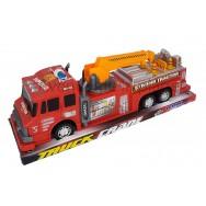 Camion de pompier avec grue