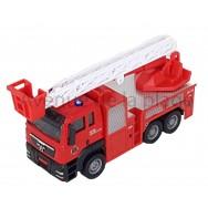 Camion de pompier en métal 13 cm