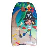 Bodyboard pirate pour enfant