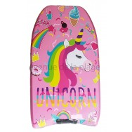 Bodyboard licorne pour enfant