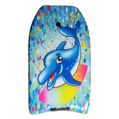 Bodyboard dauphin surfeur pour enfant