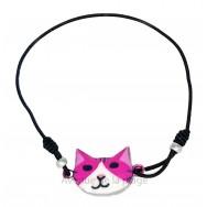 Bracelet chat élastique