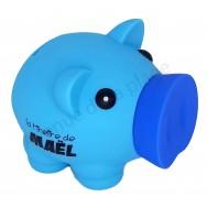 Tirelire cochon prénom Maël