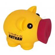 Tirelire cochon prénom Nathan