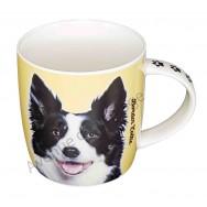 Mug chien de race Border Collie