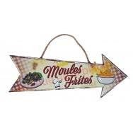 Flèche décorative Moules Frites