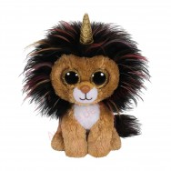 Peluche Ty Beanie Boo's Ramsey le lion licorne 15 cm