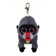 Peluche Ty Beanie Boo's porte clé Wasabi le babouin