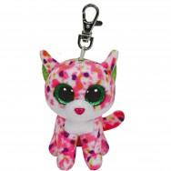 Peluche Ty Beanie Boo's porte clé Sophie le chat
