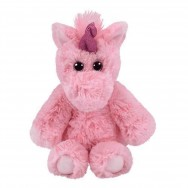 Peluche Ty Attic Treasures Estelle la licorne rose 18 cm