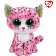 Peluche Ty Beanie Boo's Sophie le chat multicolore 23 cm