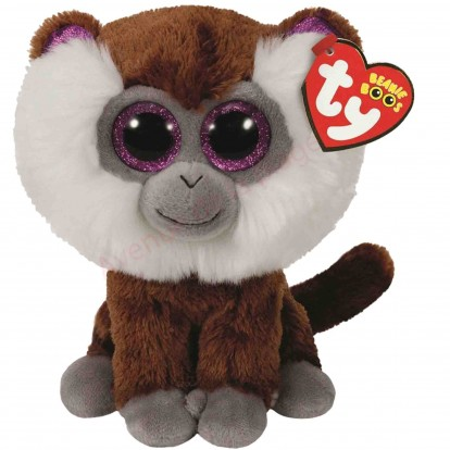 Peluche Ty Beanie Boo's Tamoo le singe macaque 14 cm