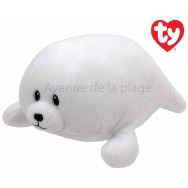 Peluche Baby Ty Tiny le phoque blanc 17 cm