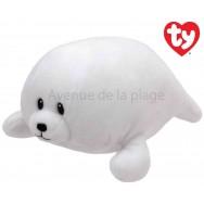 Peluche Baby Ty Tiny le phoque blanc 24 cm