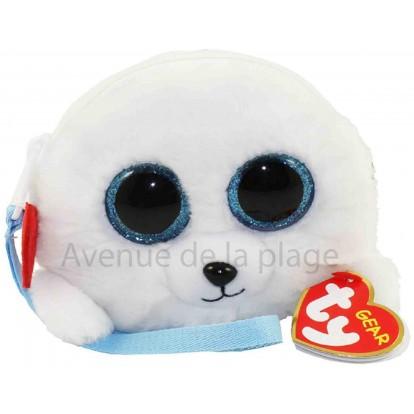 Porte-monnaie Ty Fashion Icy le phoque blanc