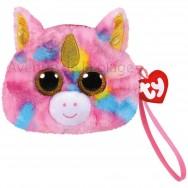 Porte-monnaie Ty Fashion Fantasia la licorne rose