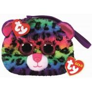 Porte-monnaie Ty Fashion Dotty le léopard multicolore