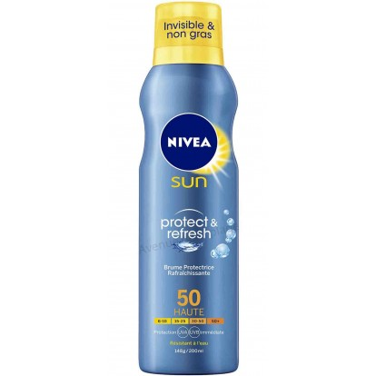 Crème solaire Nivéa brume protectrice FPS 50