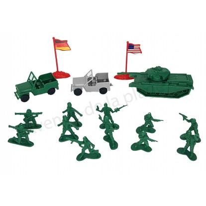Set de soldats en plastique 65 pcs