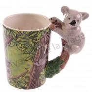 Mug anse koala sur sa branche