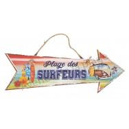 Flèche décorative Plage des surfeurs