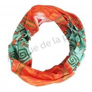 Bandeau cheveux motifs Incas