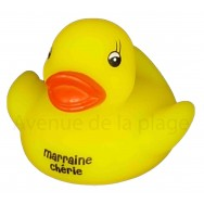 Mon petit canard Marraine chérie
