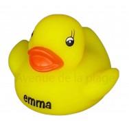 Mon petit canard prénom Emma