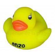 Mon petit canard prénom Enzo