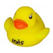 Mon petit canard prénom Inès