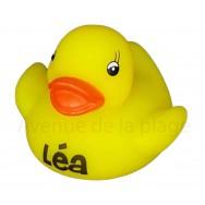 Mon petit canard prénom Léa