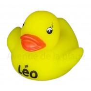 Mon petit canard prénom Léo