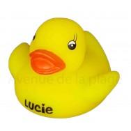 Mon petit canard prénom Lucie