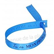 Bracelet ruban message Tu es mon Prince