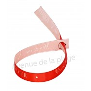 Bracelet ruban message You & Me Forever