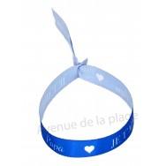 Bracelet ruban message Je t'aime Papa