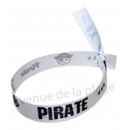 Bracelet ruban message Pirate