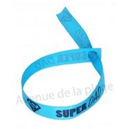 Bracelet ruban message Super Dad