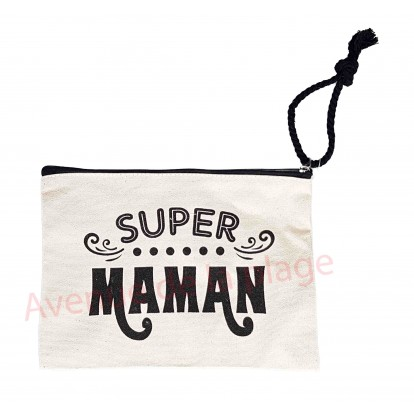 Pochette message Super Maman