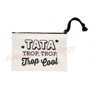 Pochette message Tata trop cool