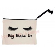 Pochette message My make up