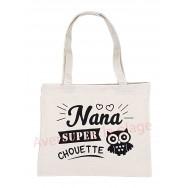 Sac à main cabas message Nana super chouette