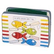 Porte éponge Les petits poissons dans l'eau