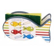 Porte éponge poisson : Les poissons dans l'eau