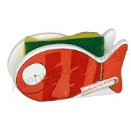 Porte éponge poisson Sardine à la tomate