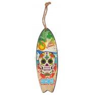 Surf à suspendre tête de mort mexicaine Aloha