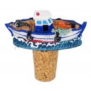 Bouchon bateau de pêche