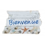 Magnet pancarte Bienvenue