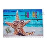 Magnet timbre poste étoile de mer
