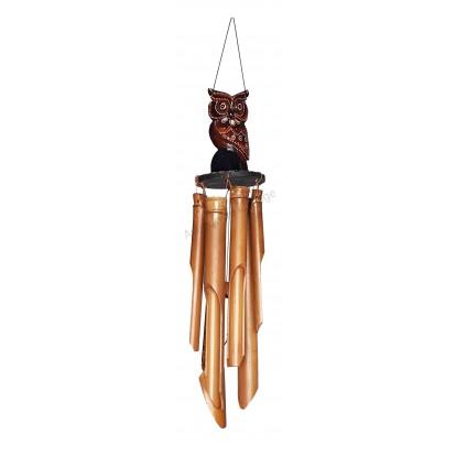 Carillon bambou hibou